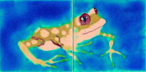 Bespoke commissions - Tropical Island Frog