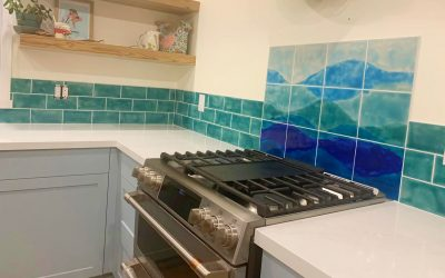 Need some kitchen design inspiration ? … check out our unique decorative wall art tiles !